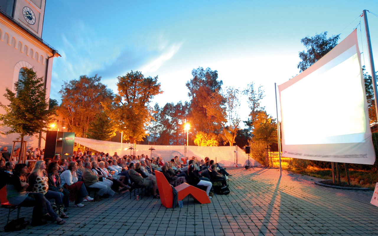 Open Air Cinema Freiluft